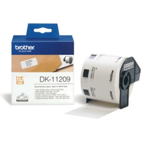 Brother DK-11209 Original 29mm x 62mm P-Touch Labels x800