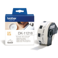 Brother DK-11218 Original 24mm P-Touch Labels x1000