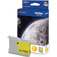 Brother LC1000Y Yellow Ink Cartridge (Original)