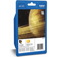 Brother LC1100Y Yellow Ink Cartridge (Original)