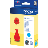 Brother LC121C Cyan Ink Cartridge (Original)