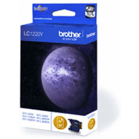 Brother LC1220Y Yellow Ink Cartridge (Original)