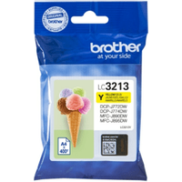 Brother LC3213Y Yellow High Capacity Ink Cartridge (Original)