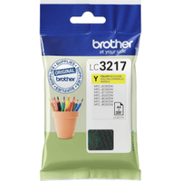 Brother LC3217Y Yellow Ink Cartridge (Original)