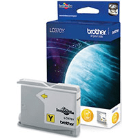 Brother LC970Y Yellow Ink Cartridge (Original)