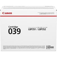 Canon 039 (0287C001) Original Black Toner Cartridge