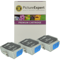 Canon BCI-10BK Compatible Black Ink Cartridge 3 Pack