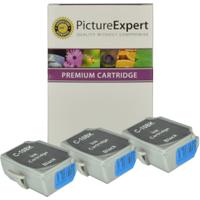 Canon BCI-10BK Compatible Black Ink Cartridge 3 Pack