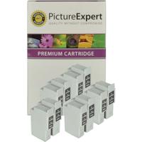Canon BCI-24 Compatible Black & Colour Ink Cartridge 10 Pack