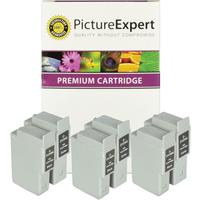 Canon BCI-24 Compatible Black & Colour Ink Cartridge 6 Pack