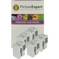 Canon BCI-24 Compatible Black & Colour Ink Cartridge 10 Pack