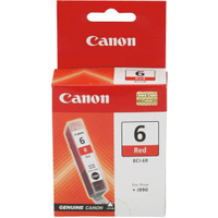 Canon BCI-6R Red Ink Cartridge (Original)
