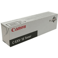 Canon C-EXV18 (0386B002AA) Original Black Toner Cartridge
