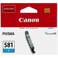 Canon CLI-581C Cyan Ink Cartridge (Original)