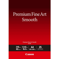 Canon FA-SM1 Original A4 Premium Fine Art Smooth Photo Paper 310g x25