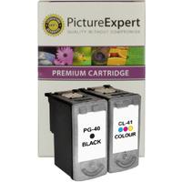 Canon PG-40 / CL-41 Compatible Black & Colour Ink Cartridge 2 Pack