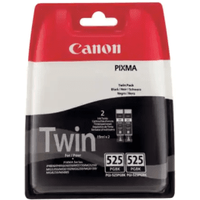 Canon PGI-525BK Original Black Ink Cartridge Twinpack