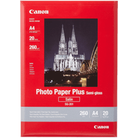 Canon SG-201 Original A4 Semigloss Photo Paper Plus 260g x20