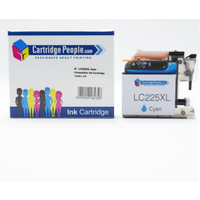 Compatible Brother LC225XLC High Capacity Cyan Ink Cartridge (Own Brand)