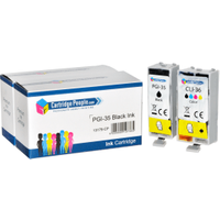 Compatible Canon PGI-35 / CLI-36 Black & Colour Ink Cartridge 2 Pack (Own Brand)