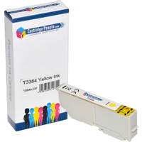 Compatible Epson 33XL Yellow High Capacity Ink Cartridge (Own Brand)