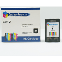 Compatible HP 21 Black Ink Cartridge (Own Brand)