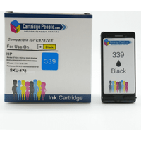 Compatible HP 339 High Capacity Black Ink Cartridge (Own Brand)