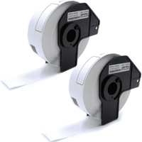 Compatible Brother DK-11201 29mm x 90mm P-Touch Labels (400 Labels) - 2 Pack