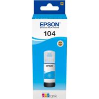 Epson 104 Cyan Ink Bottle (Original)