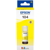 Epson 104 Yellow Ink Bottle (Original)
