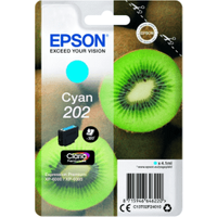 Epson 202 Cyan Ink Cartridge (Original)