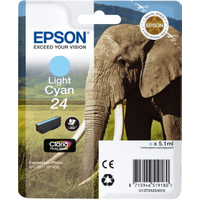 Epson 24 Light Cyan Ink Cartridge (Original)