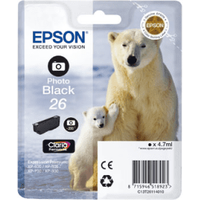 Epson 26 Photo Black Ink Cartridge (Original)