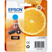 Epson 33 Cyan Ink Cartridge (Original)