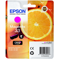 Epson 33 Magenta Ink Cartridge (Original)