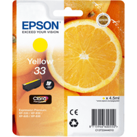 Epson 33 Yellow Ink Cartridge (Original)