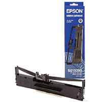 Epson C13S015307 Original Black Fabric Ribbon