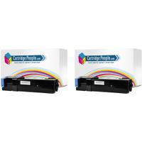 Epson C13S050631 Compatible Black Toner Cartridge Twinpack