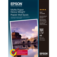 Epson S041256 A4 Matte Photo Paper 167gsm 50 sheets