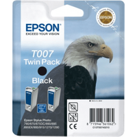 Epson T007 Original Black Ink Cartridge Twinpack