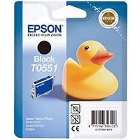 Epson T0551 Black Ink Cartridge (Original)