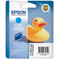 Epson T0552 Cyan Ink Cartridge (Original)