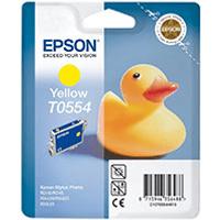 Epson T0554 Yellow Ink Cartridge (Original)