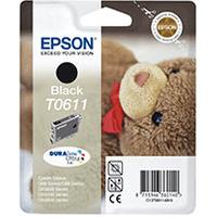 Epson T0611 Black Ink Cartridge (Original)