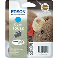 Epson T0612 Cyan Ink Cartridge (Original)