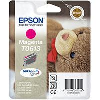 Epson T0613 Magenta Ink Cartridge (Original)