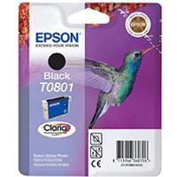 Epson T0801 Black Ink Cartridge (Original)