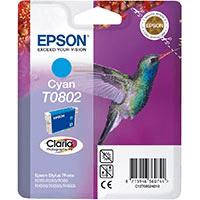 Epson T0802 Cyan Ink Cartridge (Original)
