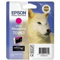 Epson T0963 Vivid Magenta Ink Cartridge (Original)