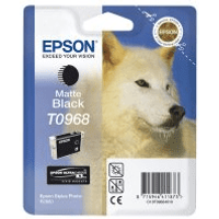 Epson T0968 Pigment Matte Black Ink Cartridge (Original)